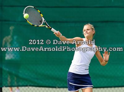 6/1/2012 - Girls Varsity Tennis - MIAA D1 South First Round - Marshfield vs Needham