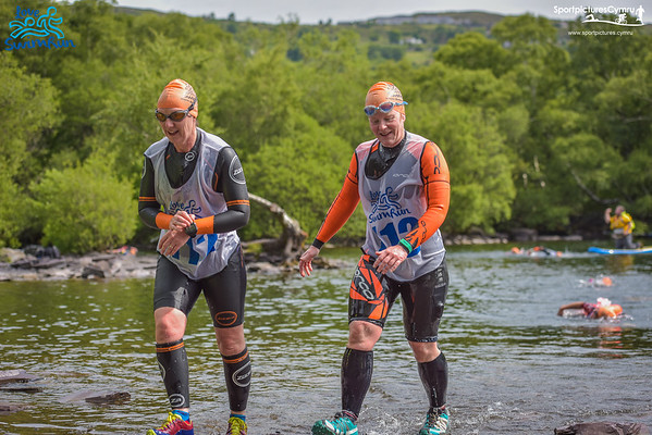 Love Swim Run - Swim Exit 1 Llyn Padarn