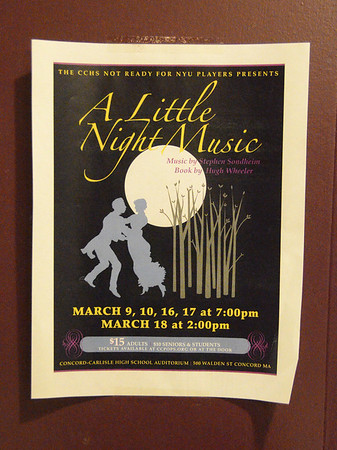 A Little Night Music: Performance - Mar 9