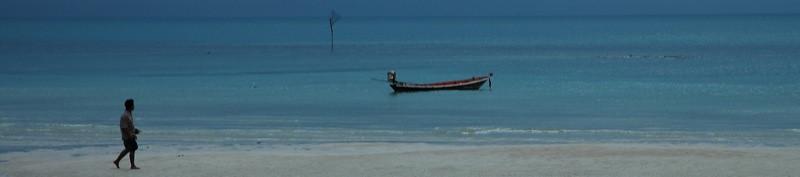 Dusk on the Beach - Haad Yao, Thailand