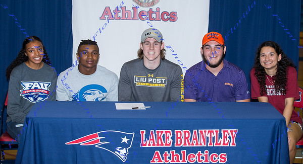 LBHS Signing Days 2018-2019
