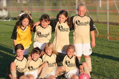 "Girls ""Mustangs"" Soccer Season 2006 Highlights"