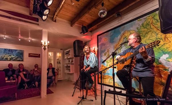 Carmen and Hugo - concert at Arthur-Brygga 18th of august 2017
