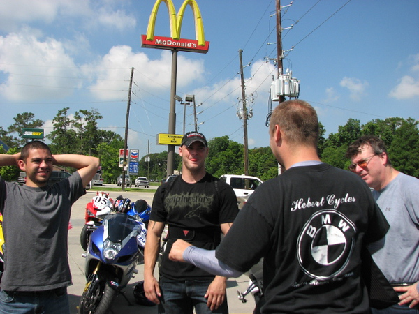 June 1st Ride to the Races (and Hooters too)