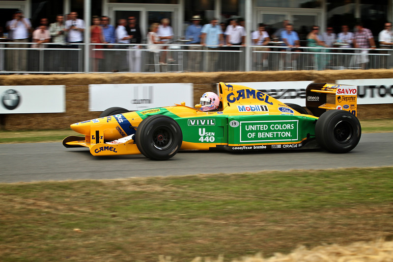 Schumacher's Benetton-Cosworth B192 (1992)