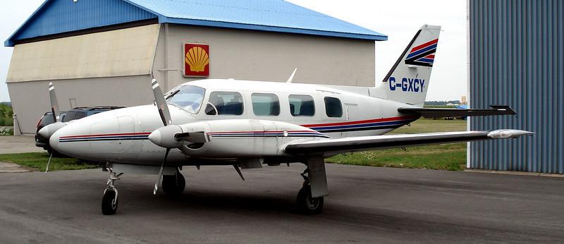Mojave Desert - Piper PA-31 Navajo