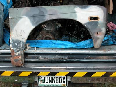 Defunct Datsun 510 Wagon Project