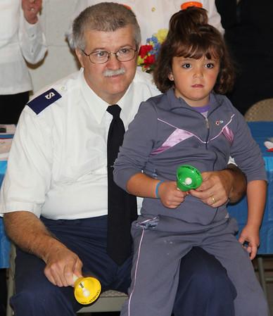 Volunteer Appreciation and Board Member Dinner, Salvation Army, Tamaqua (9-27-2013)