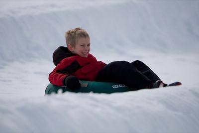 Snowtubing Fun by Jason Joseph