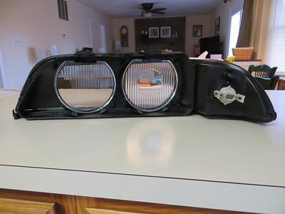 Pre Facelift fluted lenses in facelift type housings