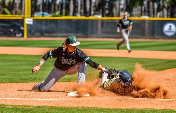 3-17-19 NC Wesleyan Baseball