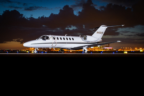 Citation CJ3 N458PC (High Res)
