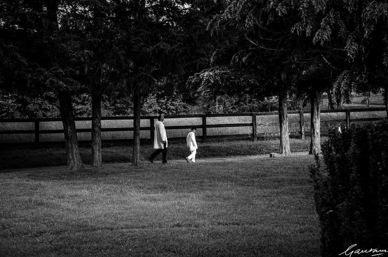 Vikram and Samir, Ponds House, Virginia