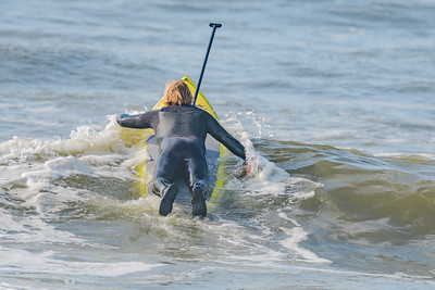 Alex SUPing Lincoln Beach, Long Beach, NY