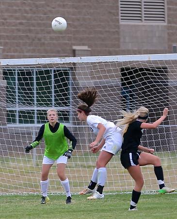 Outlaw Girls Soccer vs Elmira 10-14-14