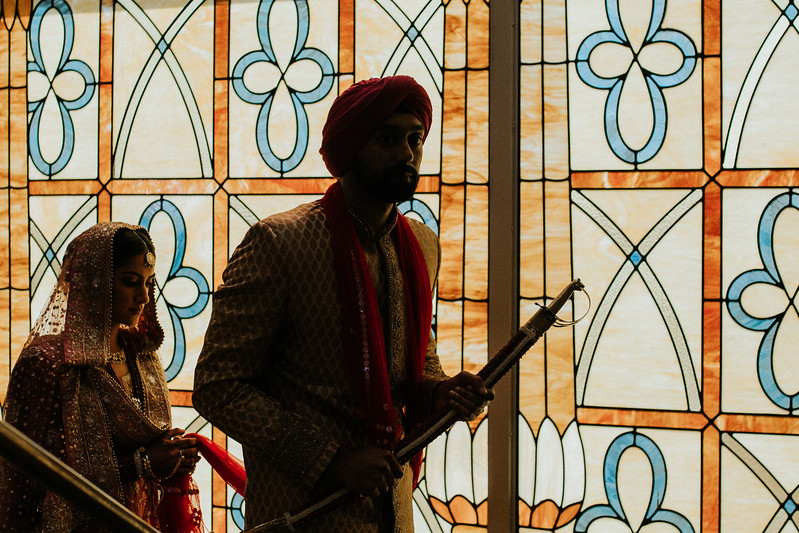 Sikh - Catholic Fusion Wedding Part 1 - Second Photographer for Ron Dillon