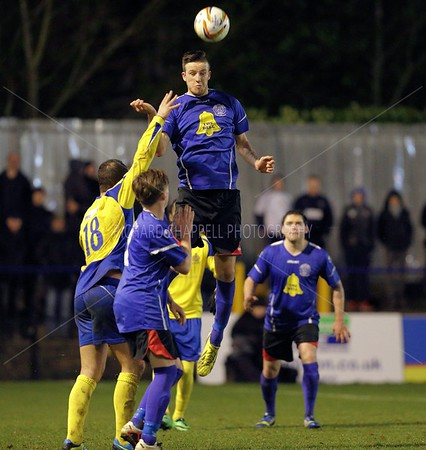 CHIPPENHAM TOWN V ST. ALBANS CITY MATCH PICTURES 17 Feb 2014
