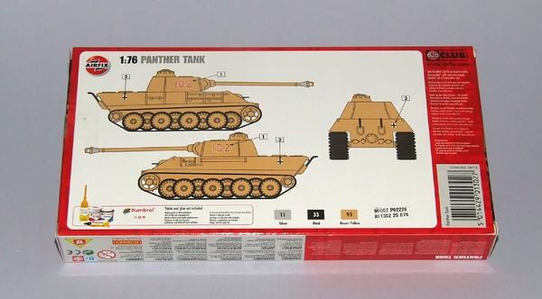 Airfix Panther tank