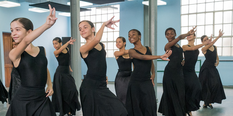 Dancers, Lizt Alfonso Academy, Havana