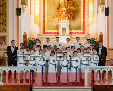 The Savio Boy Choir 2016