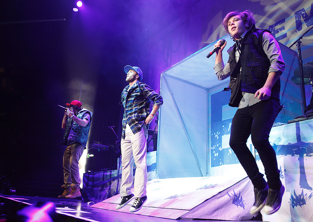 . Emblem3 performed Tuesday night, Nov. 26, at The Palace of Auburn Hills. Photo by Ken Settle