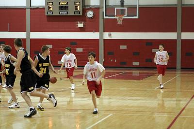 Middle School Boys Basketball 8B - 2006-2007 - 11/30/2006 Tri County