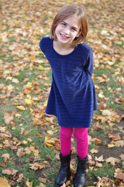 Anya in the fall.
