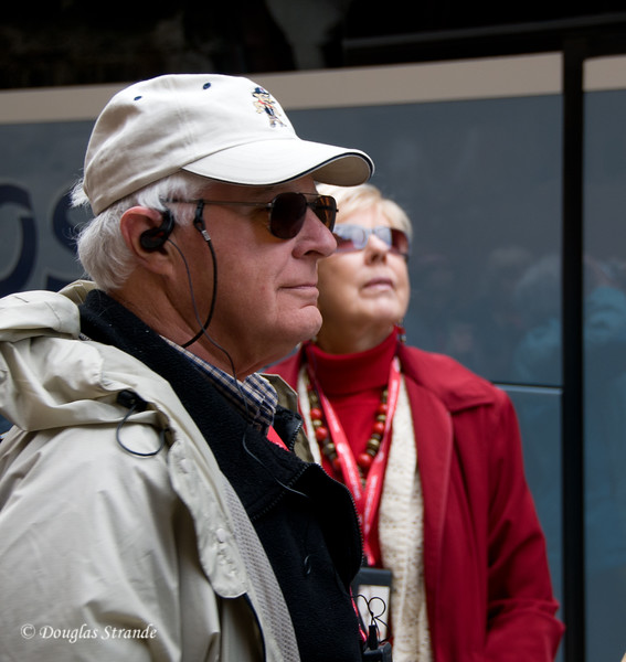 Sun 3/13 in Malaga: Jack and Evelyn paying attention