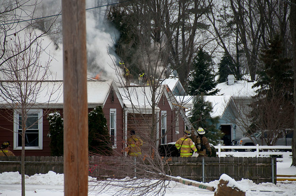 South Elgin MABAS 2, 2nd Alarm residential fire - Jan. 20, 2011