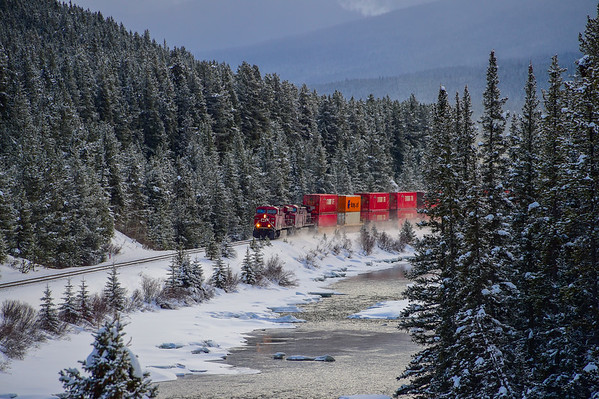 1-19-15 CPR Freight Train