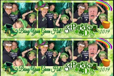 Bring your Green Hat St. Patrick Celebration
