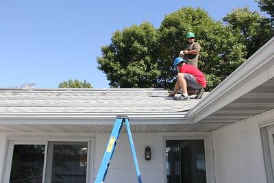 AIE - Solar Install John Freitag's house