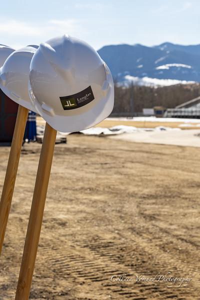 RLHS Career Training Center Ground Breaking Ceremony March 18, 2021