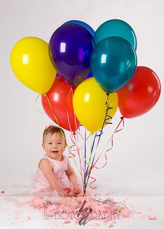 Abigail's First Birthday