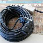 SKU: AE-CABLE-SERVO/A15, Medium Capacity AC Servo Motor Encoder APC Absolute Pulse Coder Signal Cable 15 Meters with Connectors