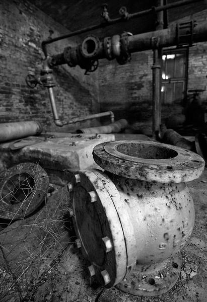 Pump Room  Lumber Mill, McCloud, CA