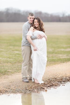Christina and Vinnie Maternity