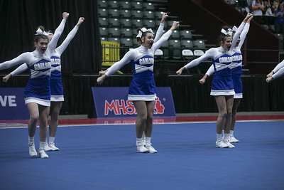 HS Sports - Division 2 Cheer State Meet 2020