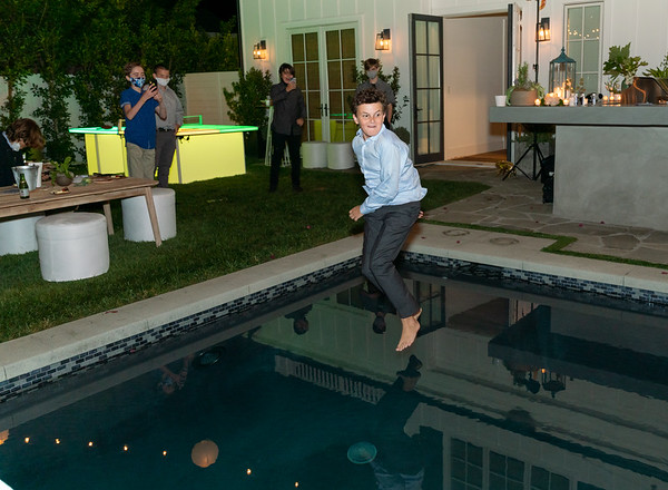 Logan's Micro Bar Mitzvah - Home in Brentwood