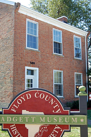 Floyd County Historical Society Museum Dedication