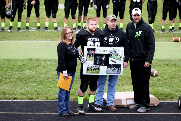 Trevor Senior Night @ Western HS
