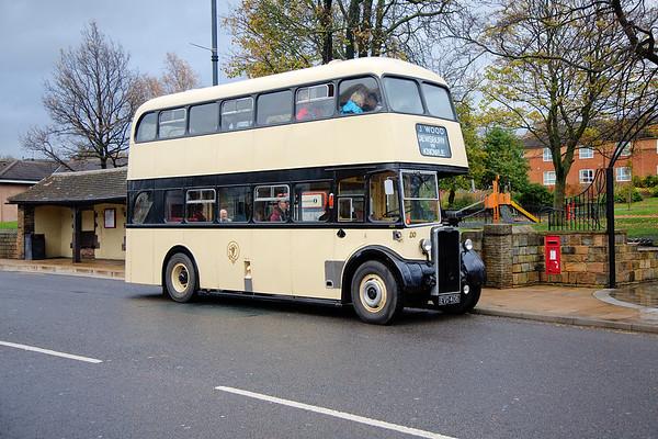 Dewsbury Bus Museum Autumn Open Day 15th November 2015