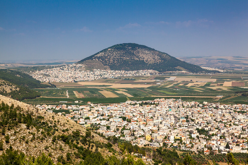 Tavor Mount View from Jumping Mountain Nazareth