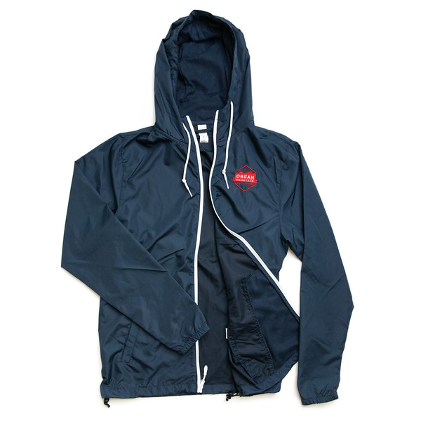 Organ Mountain Outfitters - Outdoor Apparel - Hooded Jacket - Windbreaker Zip Up - Classic Navy White.jpg