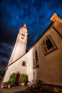 The Church in Kematen in Tirol