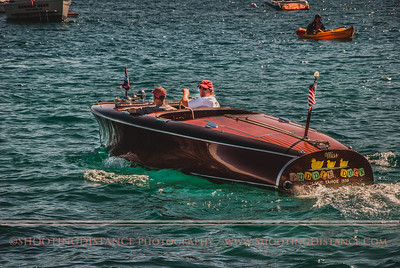 Miss Puddle Duck gets underway at 2011 Concours d'Elegance, Lake Tahoe