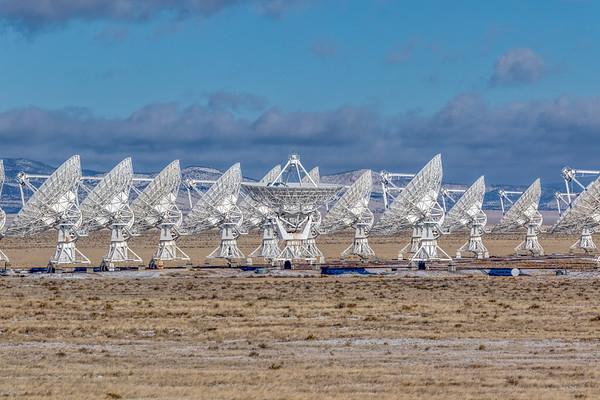 Very Large Array, Karl G. Lansky National Radio Astronomy Observatory, Magdalena, New Mexico - Sunday, Dec 29, 2019