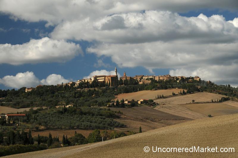 Tuscan Hill Town of Pienza - Val d'Orcia, Tuscany
