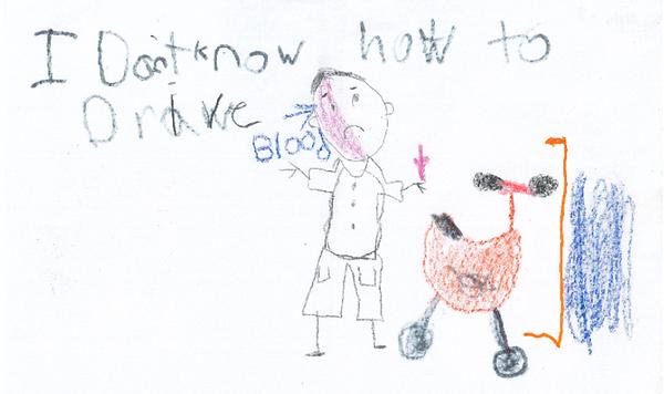 Police kids sketch 2