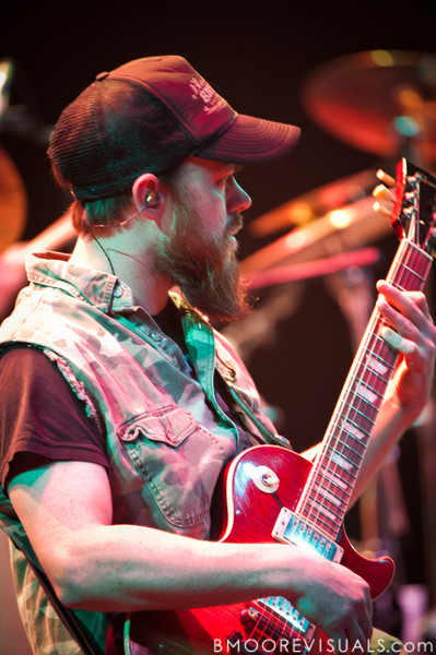 """Rowdy Cope performs with Jamey Johnson on November 6, 2010 in support of """"The Guitar Song"""" at Ruth Eckerd Hall in Clearwater, Florida"""